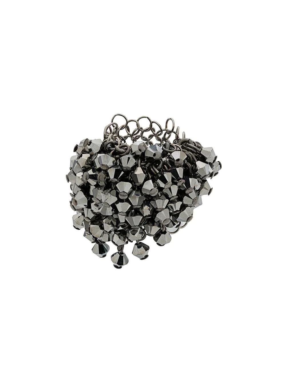 Marc Le Bihan Geometric Bead Ring - Metallic