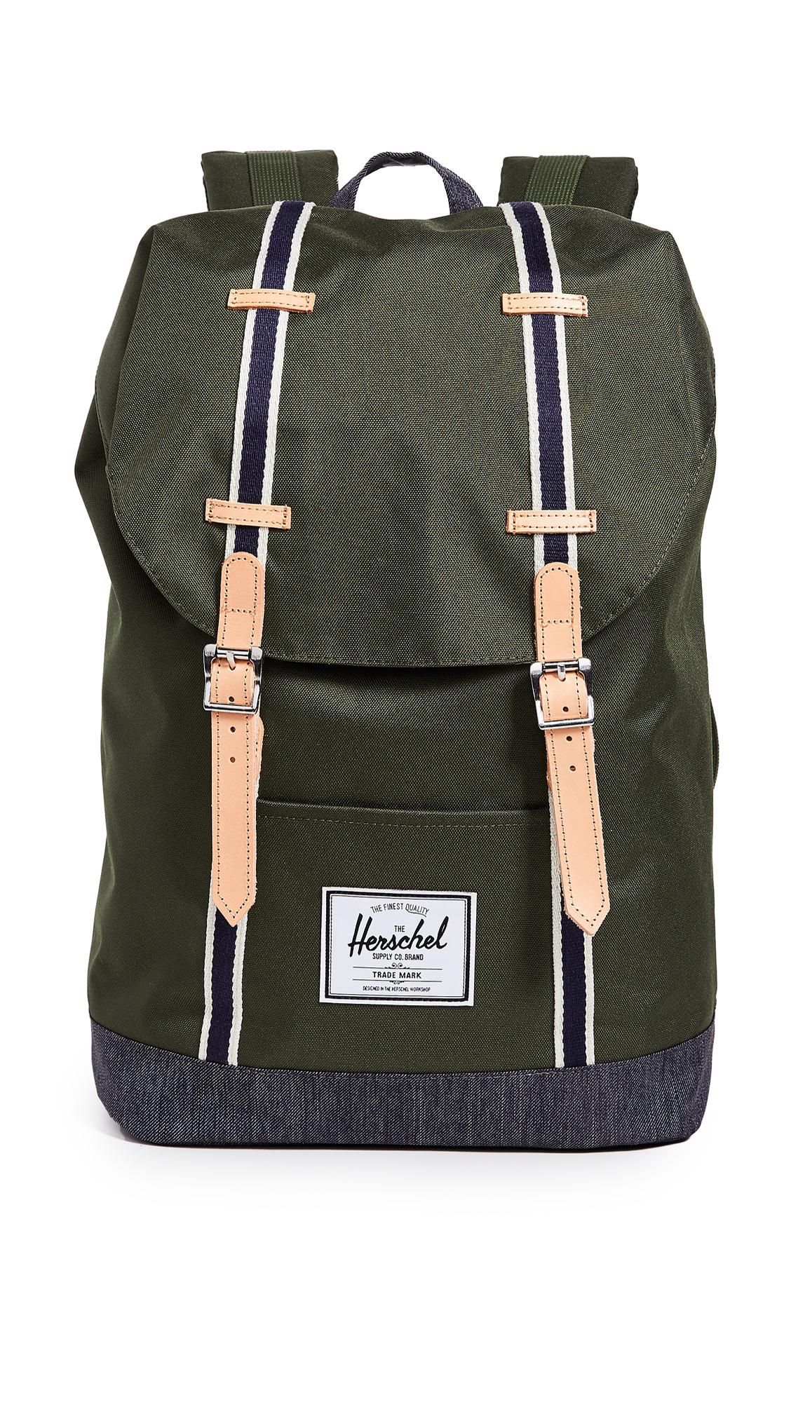 d42aa6e3d62d Herschel Supply Co. Retreat Backpack In Forest Night/Dark Denim ...