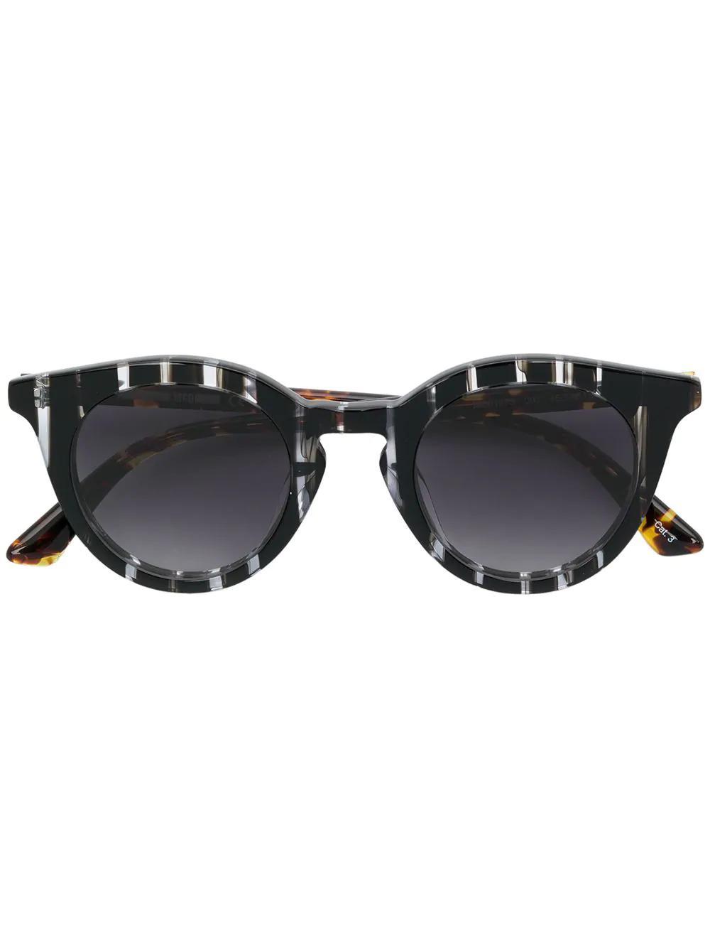a35592dbed9d Mcq By Alexander Mcqueen Mcq Alexander Mcqueen Round Sunglasses - Black