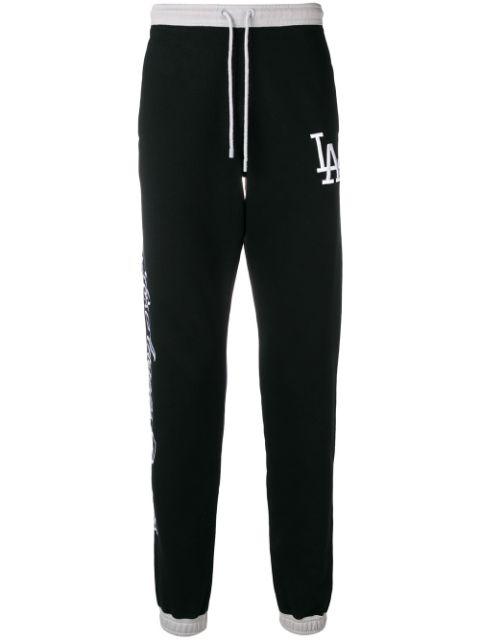 Marcelo Burlon County Of Milan La Dodgers Track Pants In Black