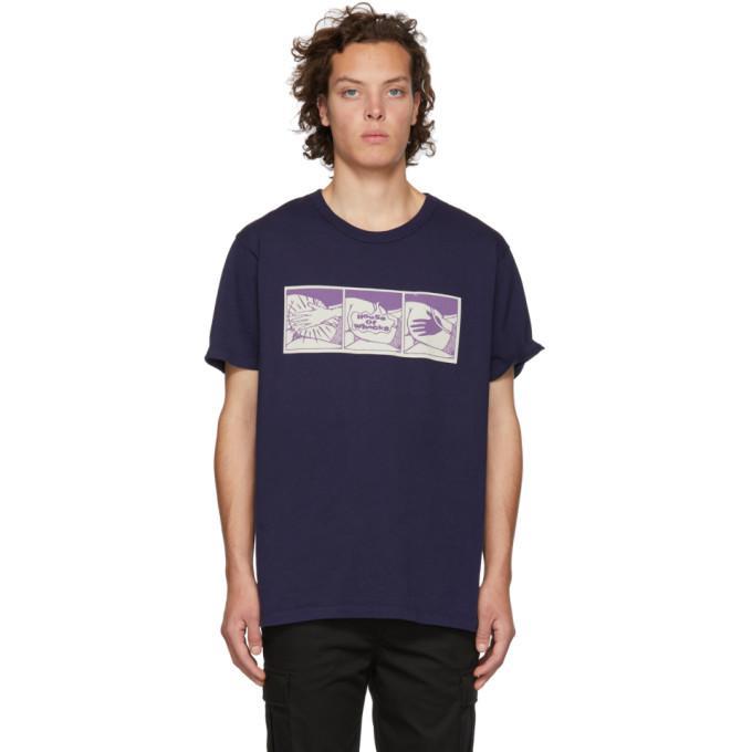 9c359a5d99 Bianca Chandon Navy House Of Whacks T-Shirt