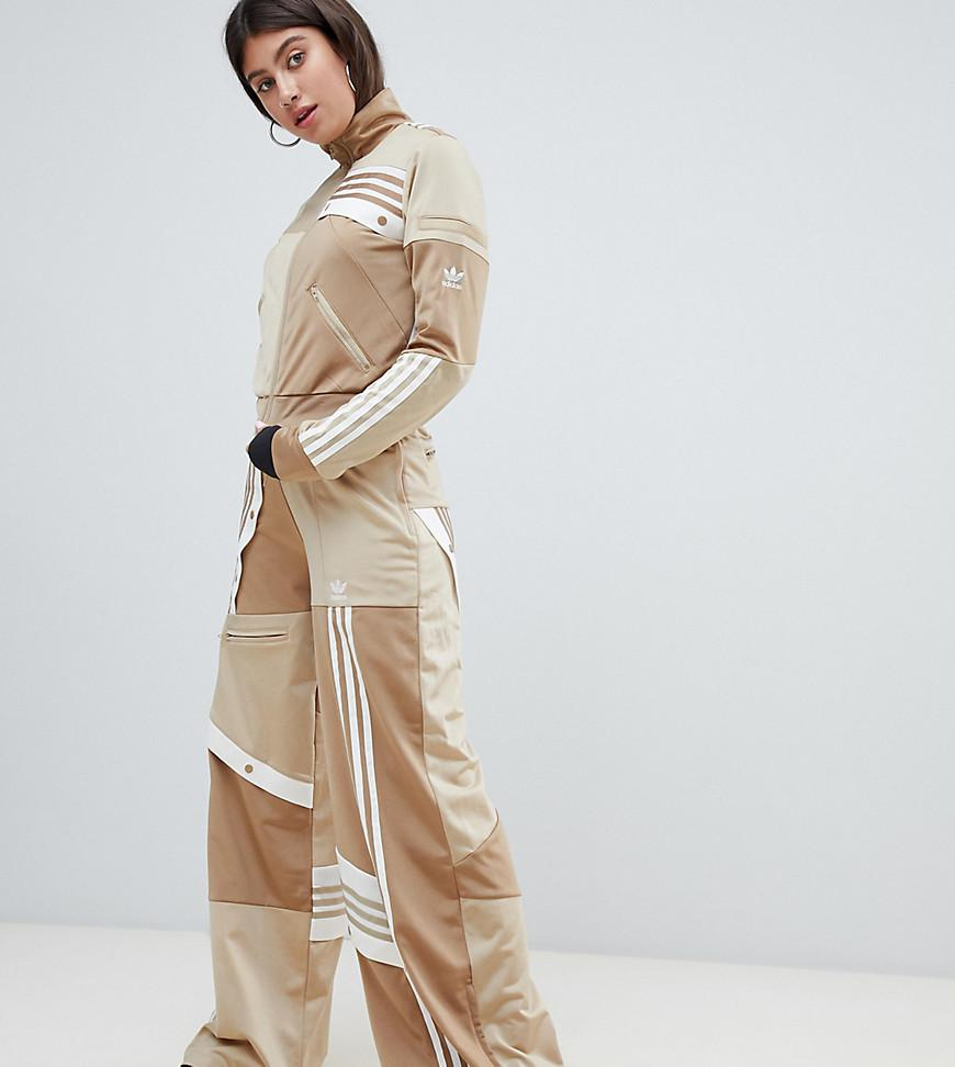 a618c4e5d4b Adidas Originals X Danielle Cathari Deconstructed Track Pants In Beige  Khaki - Beige