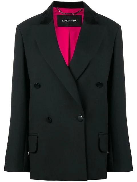 Barbara Bui Tailored Loose Jacket In Black