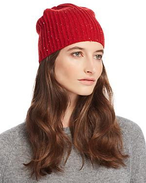 251e442d4 Aqua Cashmere Donegal Cashmere Hat - 100% Exclusive In Red | ModeSens