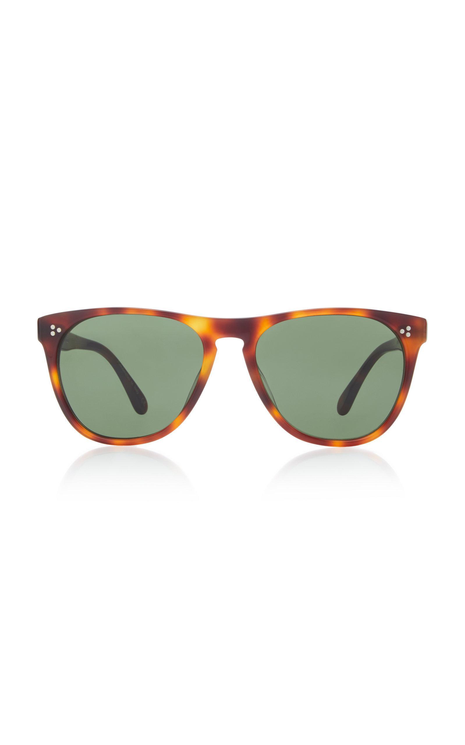 175b3707959 Oliver Peoples Daddy B. Square Sunglasses In Brown. Moda Operandi