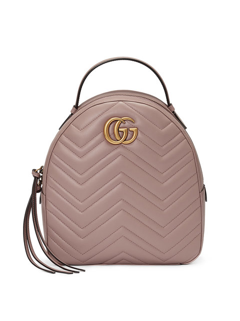 eef99ff61775fc Gucci Gg Marmont Quilted Leather Backpack In Neutrals | ModeSens