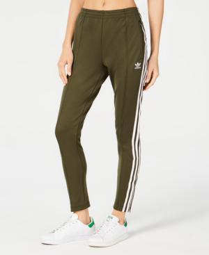 99ffcde55f952 Adidas Originals Sst Track Pants In Night Cargo Green | ModeSens