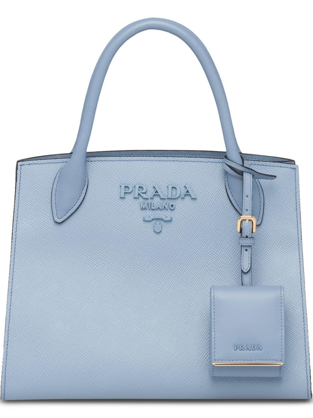 c82126596b5a4 Prada  Monochrome  Handtasche - Blau In Blue