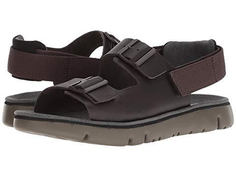 Camper Oruga Sandal K100287 Dark Brown Modesens