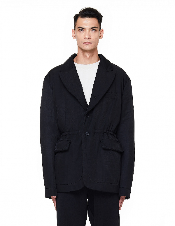 Haider Ackermann Insulated Black Jacket