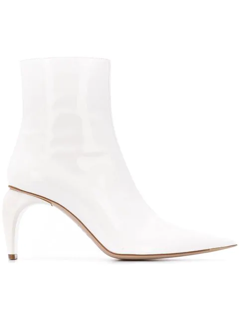 Misbhv Ankle Boots In White
