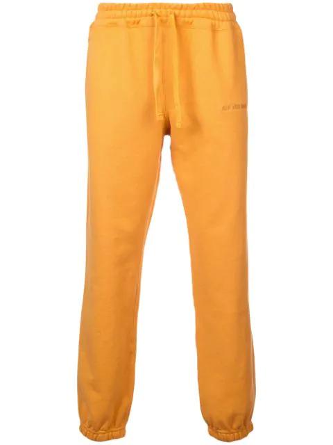 AimÉ Leon Dore Logo Track Pants In Mustard
