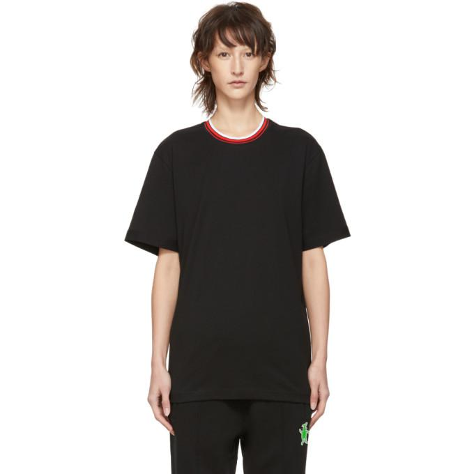 Marni Dance Bunny Black Bunny T-shirt In 00n99 Black
