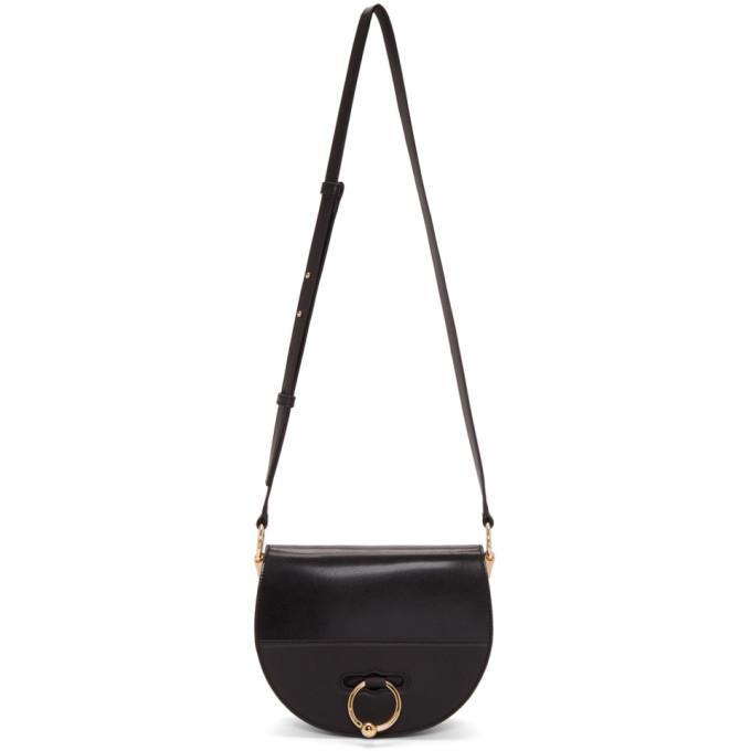 Jw Anderson Black Latch Bag In 999 Black