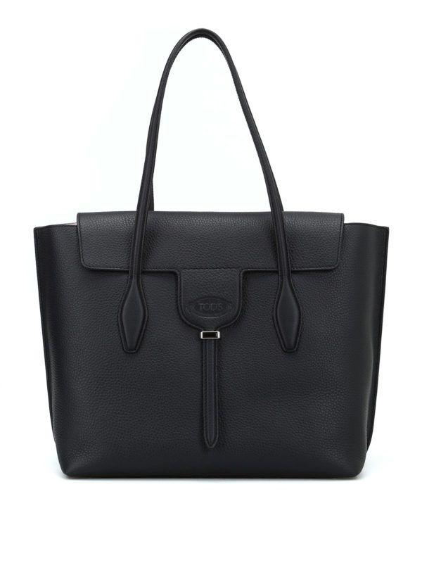 Tod's Joy Bag Medium In Black
