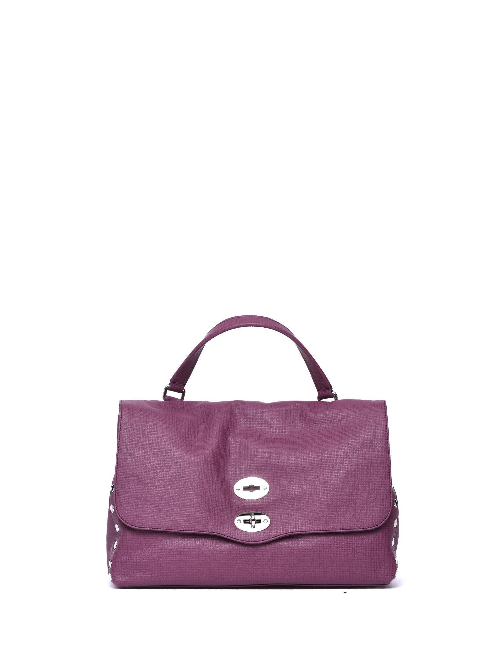 Zanellato Postina M Curturo Purple Bag In Barbabietola