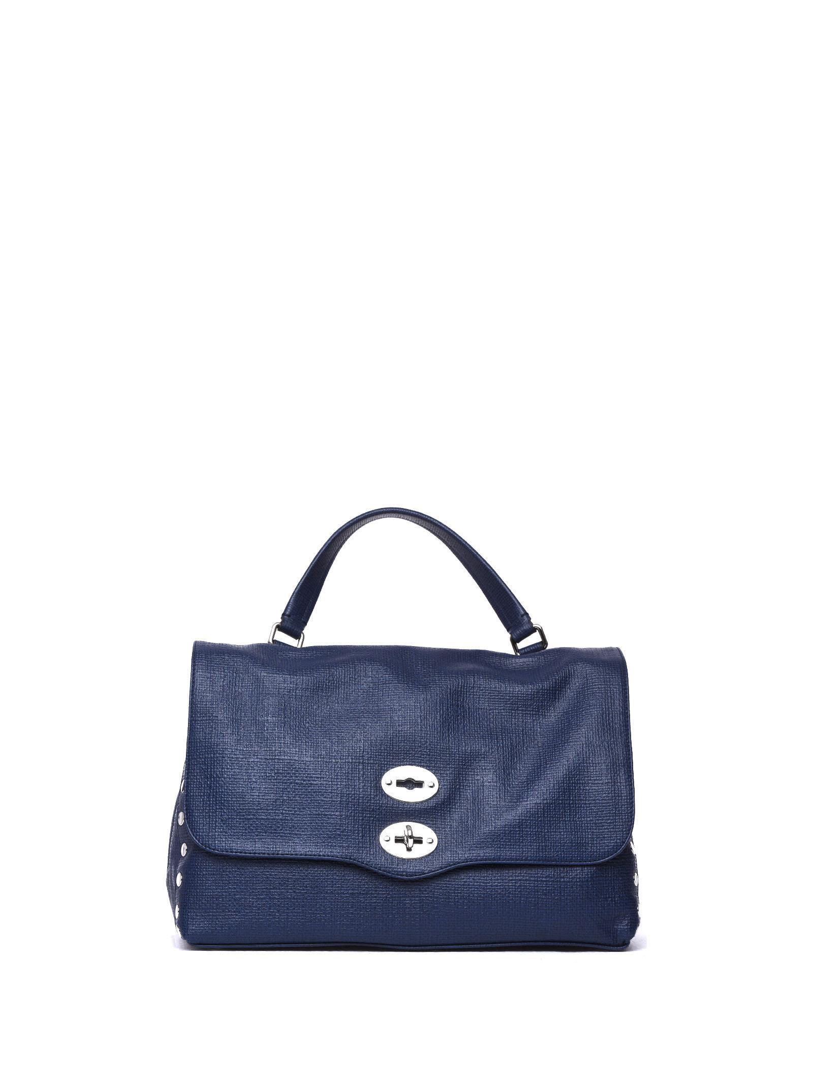 Zanellato Postina M Curturo Blue Bag In Profondo