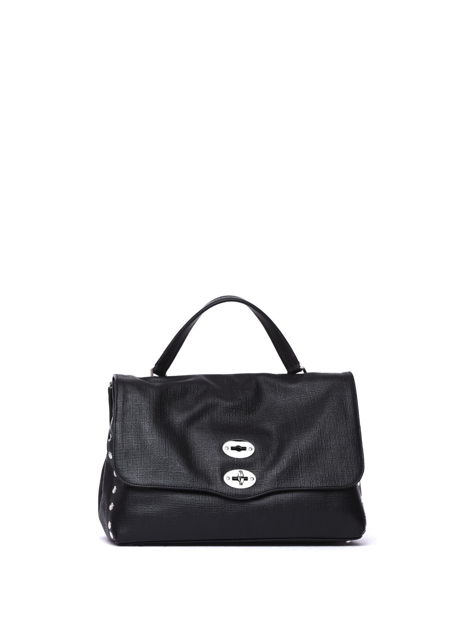 Zanellato Postina M Curturo Black Bag In Nero