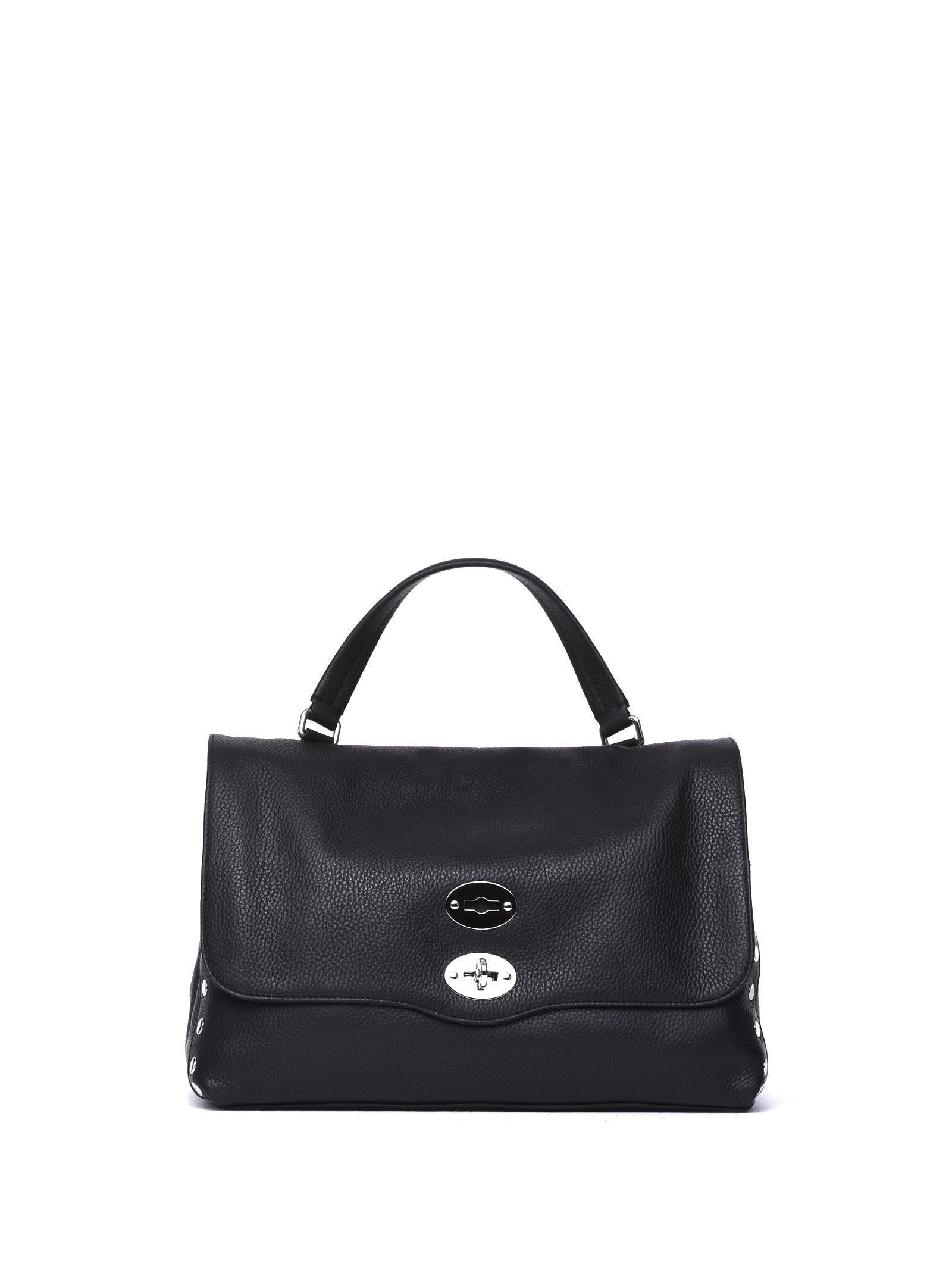 Zanellato Postina M Daily Black Bag In Nero