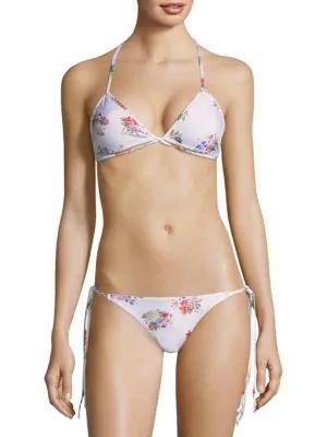 Sinesia Karol Maite Bikini Top In Floral