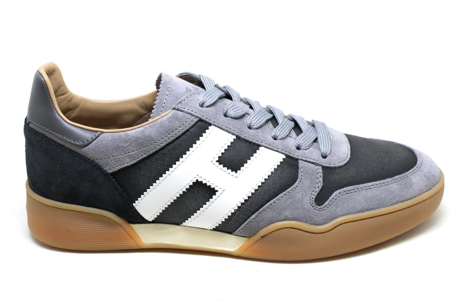 Hogan Sneakers H357 In Grey/white