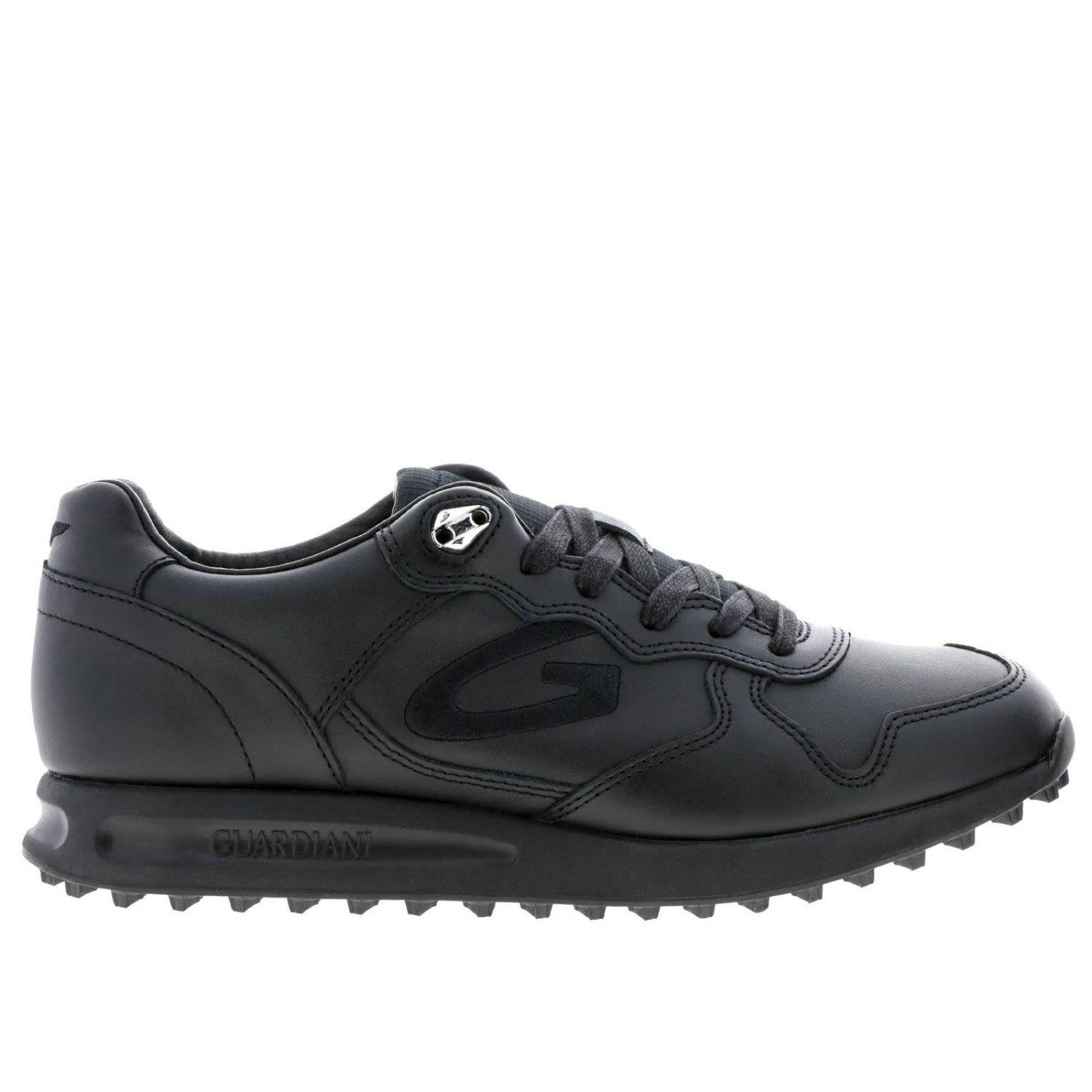 Alberto Guardiani Guardiani Sneakers Shoes Men Guardiani In Black