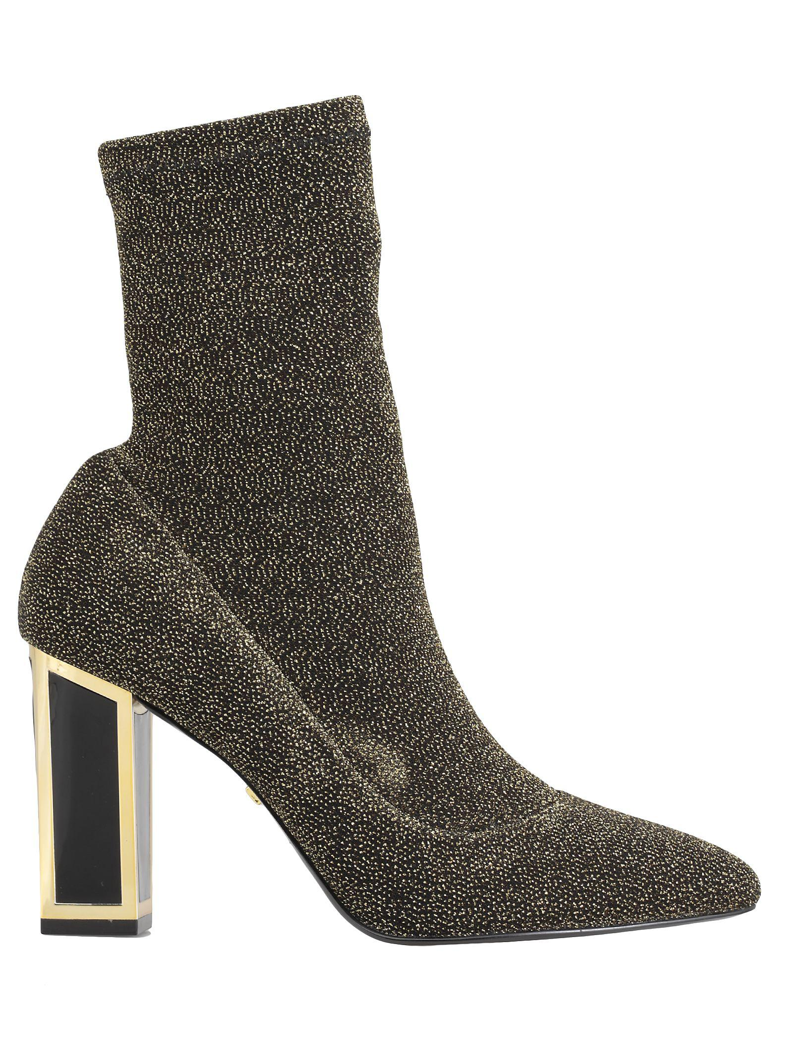 Kat Maconie Alexis Ankle Boot In Gold
