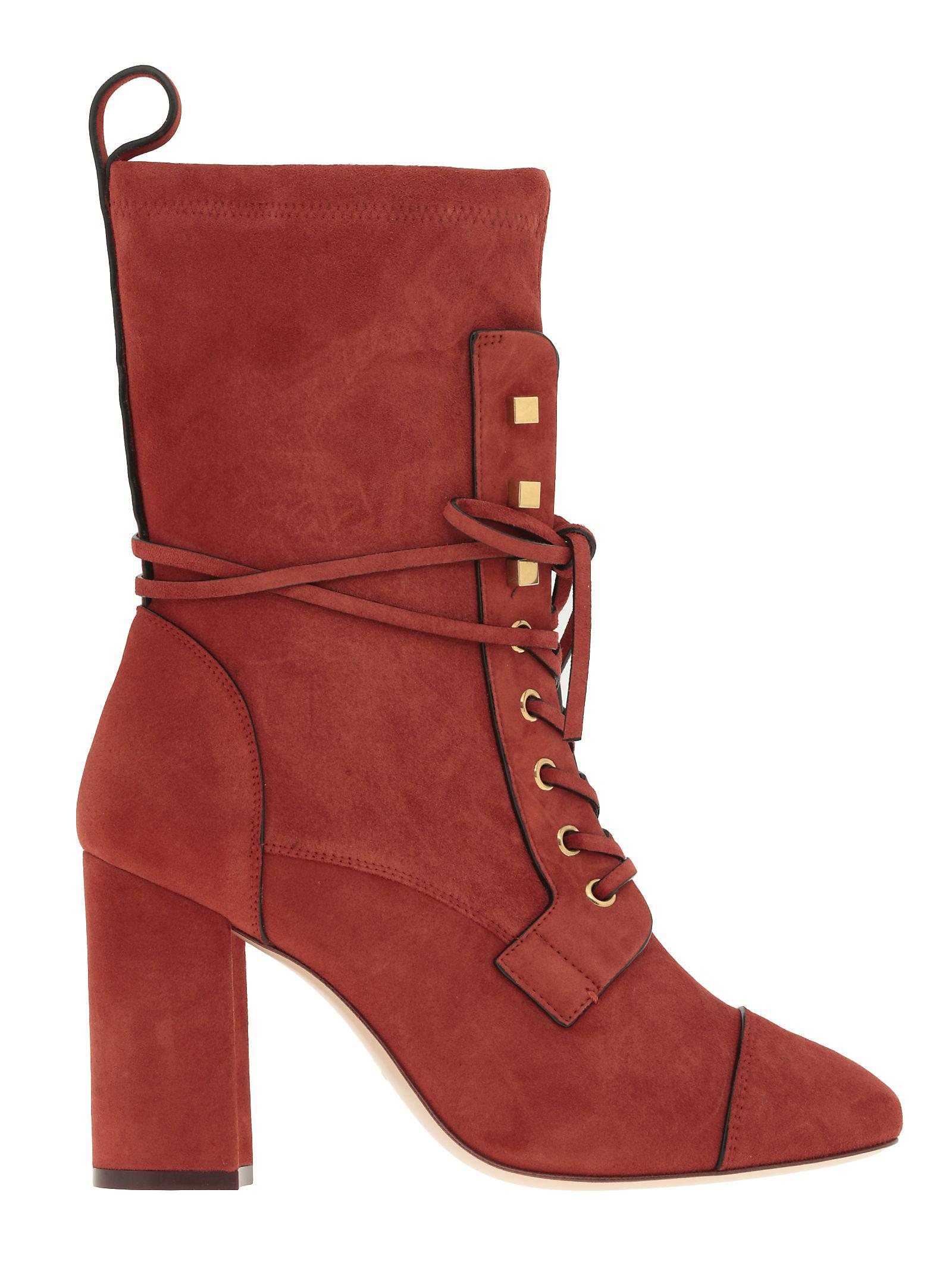 Stuart Weitzman Veruka Boot In Orange