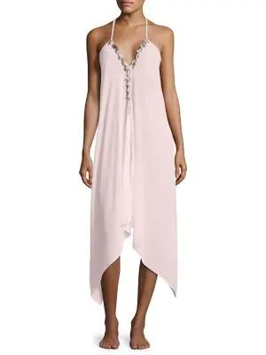 Ramy Brook Kym Tasseled Dress In Blush