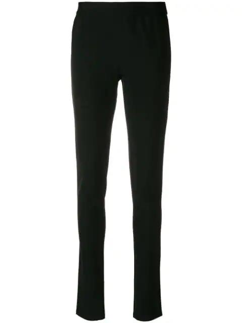 Ann Demeulemeester Slim Fit Trousers - Black