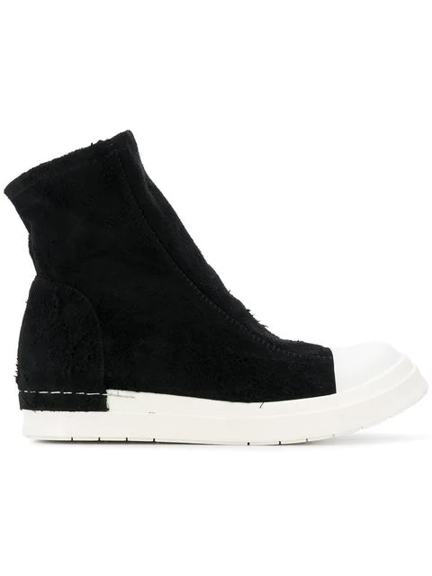 Cinzia Araia Hi-top Trainers In Black