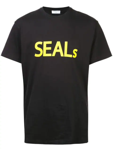 Ih Nom Uh Nit Seal T-shirt - Black