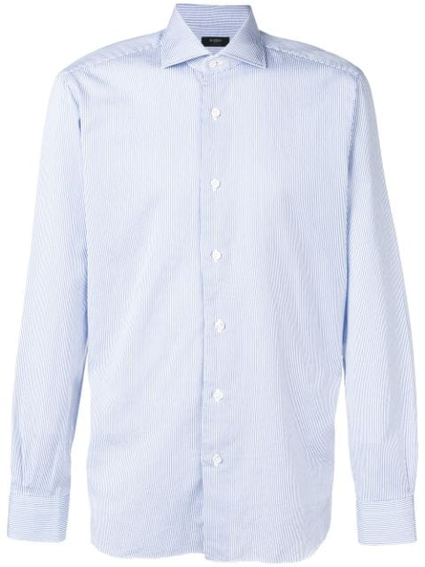 Barba Classic Formal Shirt - Blue
