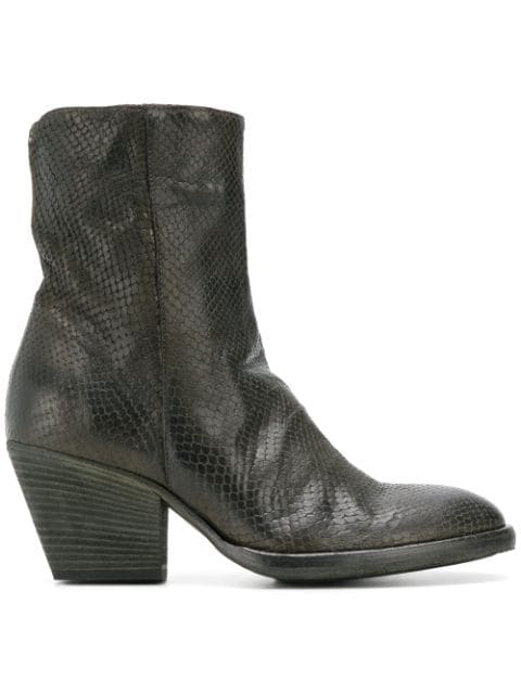 Officine Creative Agnes Boots In Green