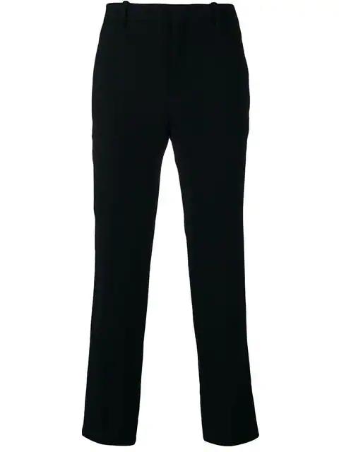 Neil Barrett Regular Fit Tailored Trousers In Black