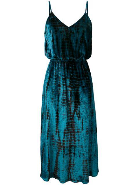 Mes Demoiselles Suzie Midi Dress In Blue