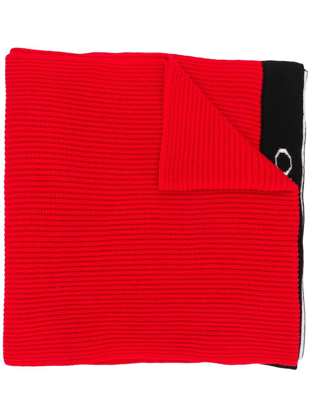 Emilio Pucci Branded Classic Scarf In Red
