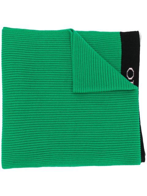 Emilio Pucci Branded Classic Scarf - Green