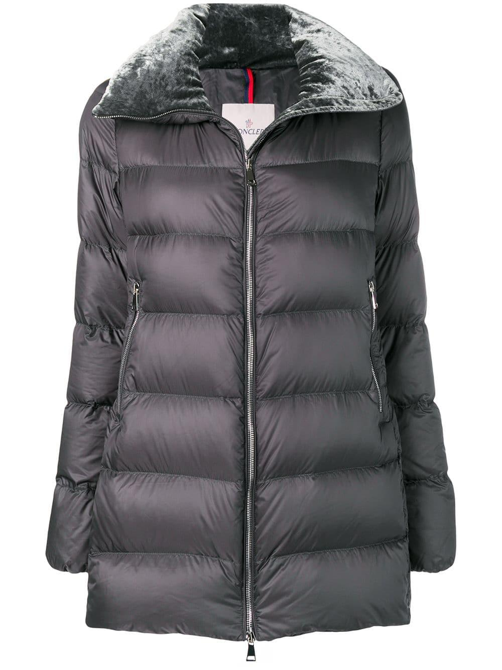 Moncler Torcol翻领羽绒服 In Grey
