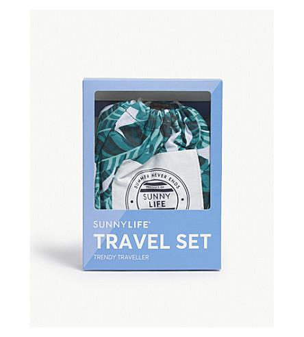 Sunnylife Travel Set In Multi