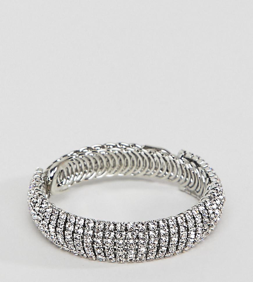 True Decadence True Decandence Silver Rhinestone Bracelet - Silver