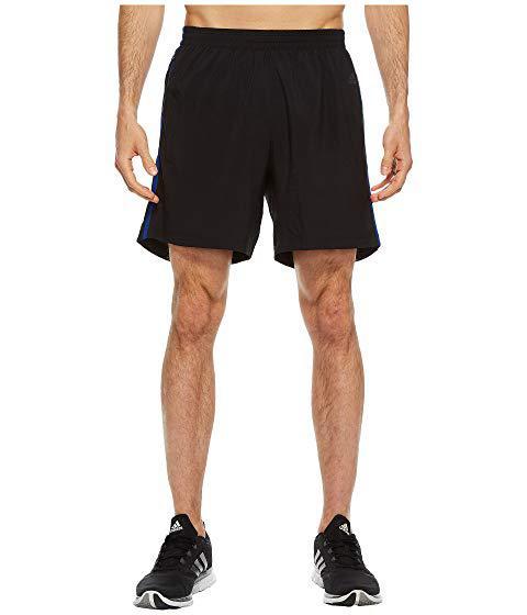 """Adidas Originals Response 7"""" Shorts, Black/collegiate Royal"""