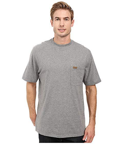 Pendleton S/s Deschutes Pocket Shirt, Grey Heather