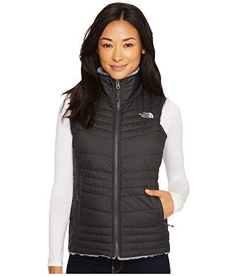 The North Face Mossbud Swirl Vest, Asphalt Grey/mid Grey (prior Season)