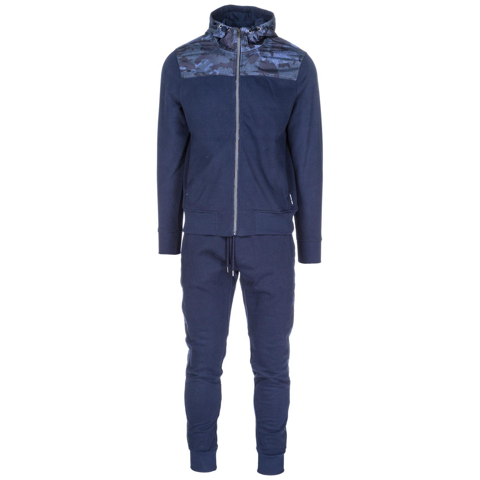 Michael Kors Herren Jumpsuit Fashion Anzug Sweatshirt In Blue