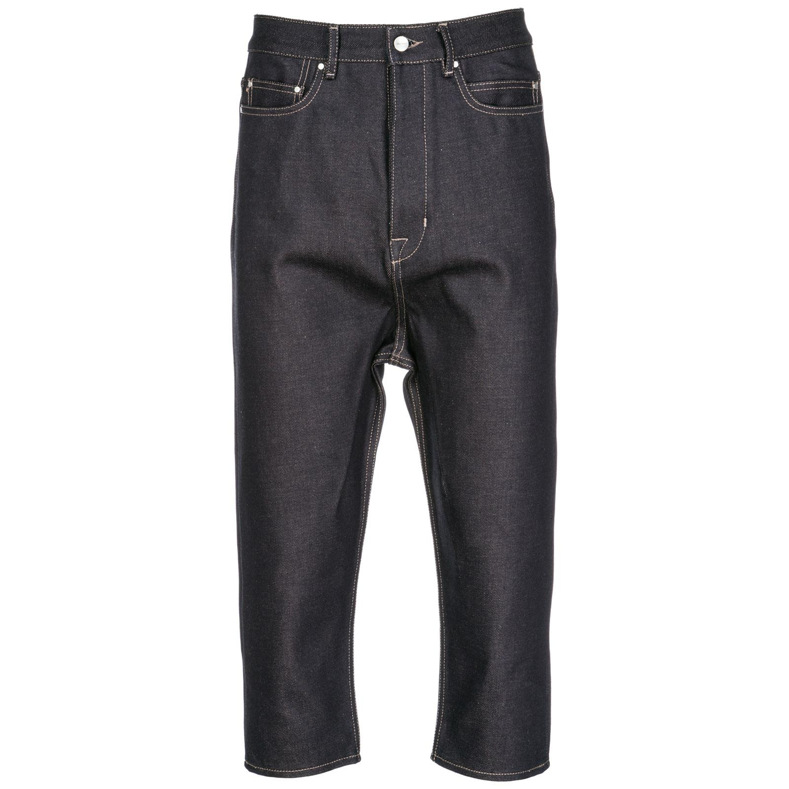 Rick Owens Men's Jeans Denim In Blue