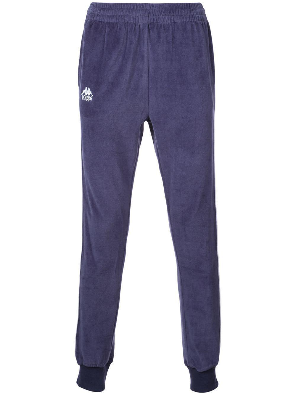 Kappa Side Panelled Track Pants - Blue