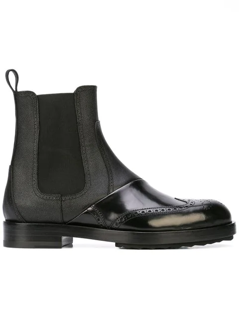Pierre Hardy Twin Ankle Boots In Black