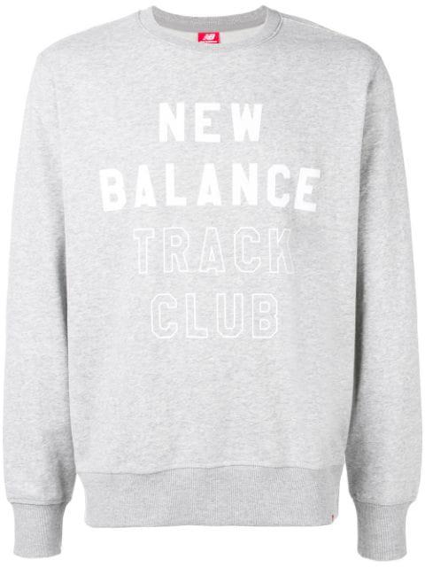 New Balance Logo Print Sweatshirt - Grey