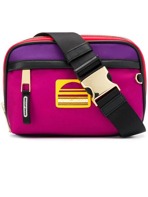 Marc Jacobs Square Shaped Belt Bag - Purple